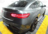 Mercedes Benz GLE 63 AMG Coupe